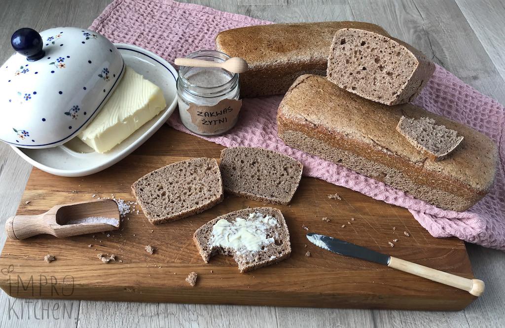 Domowy chleb nażytnim zakwasie