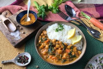 Curry pomidorowo - kokosowe