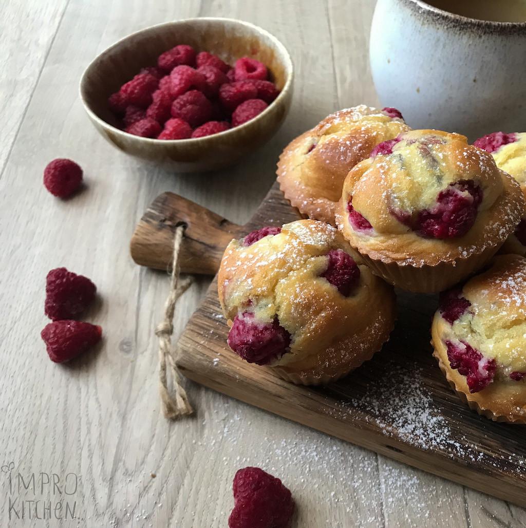 Muffiny zmalinami